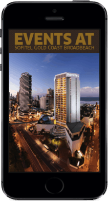 Sofitel Gold Coast Broad Beach Event App
